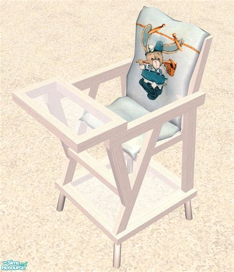 bitzybus maya nursery white high chair
