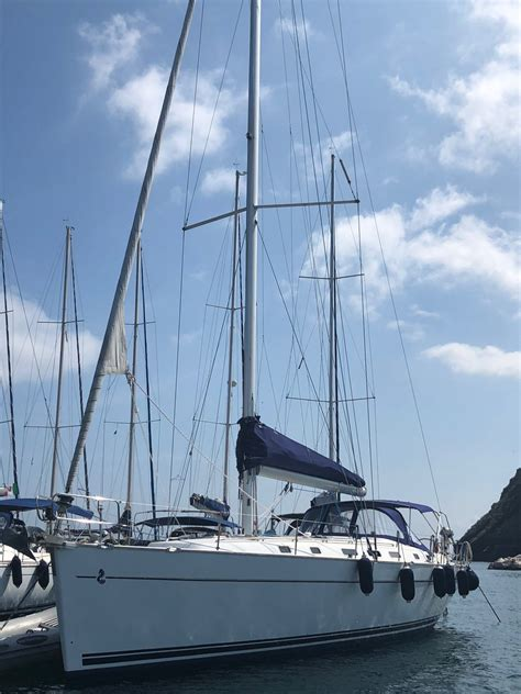 Lade Pannelli Solari by Beneteau Cyclades 50 Kores Eolie In Barca A Vela Estate 2019