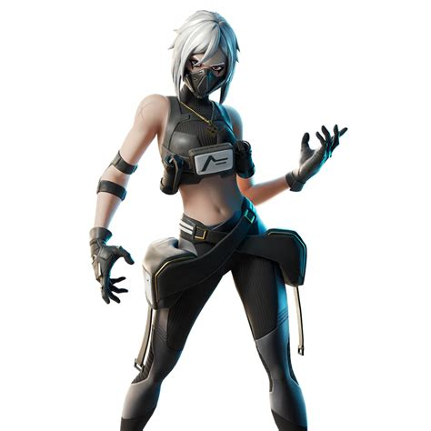 fortnite hush skin outfit pngs images pro game guides