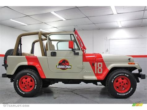 jeep lifestyle 1994 jeep wrangler se 4x4 jurassic park 18 photo