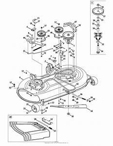 Mtd 13aj78ss099  247 288842   2012  Parts Diagram For Mower Deck