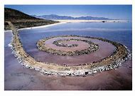 Robert Smithson Spiral Jetty