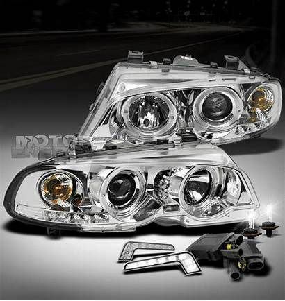 Drl Bmw Projector Halo E46 2dr Led