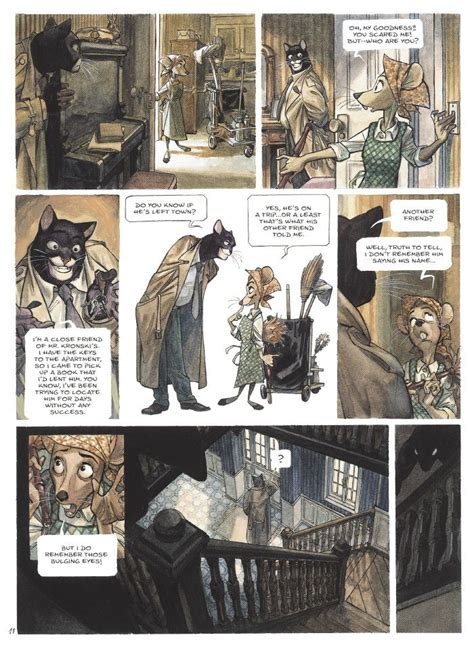 Blacksad Comic  Blacksad Preview Pages Comic