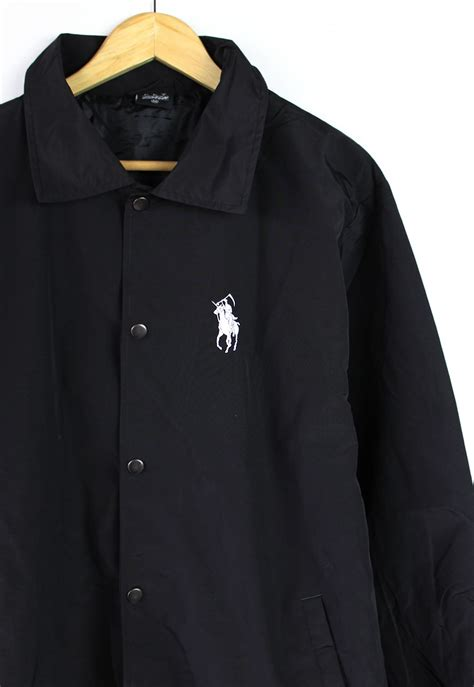 grim reaper polo coach jacket
