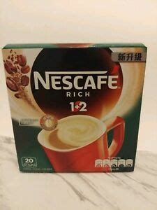 This worked well as it gave me control over how much of each ingredient i wanted, it limited packaging material, and is likely the least. Nescafe Rich 3 In 1 (2+1) 20 Packets 15g Instant Coffee Creamer Sugar Exp. 2020 | eBay