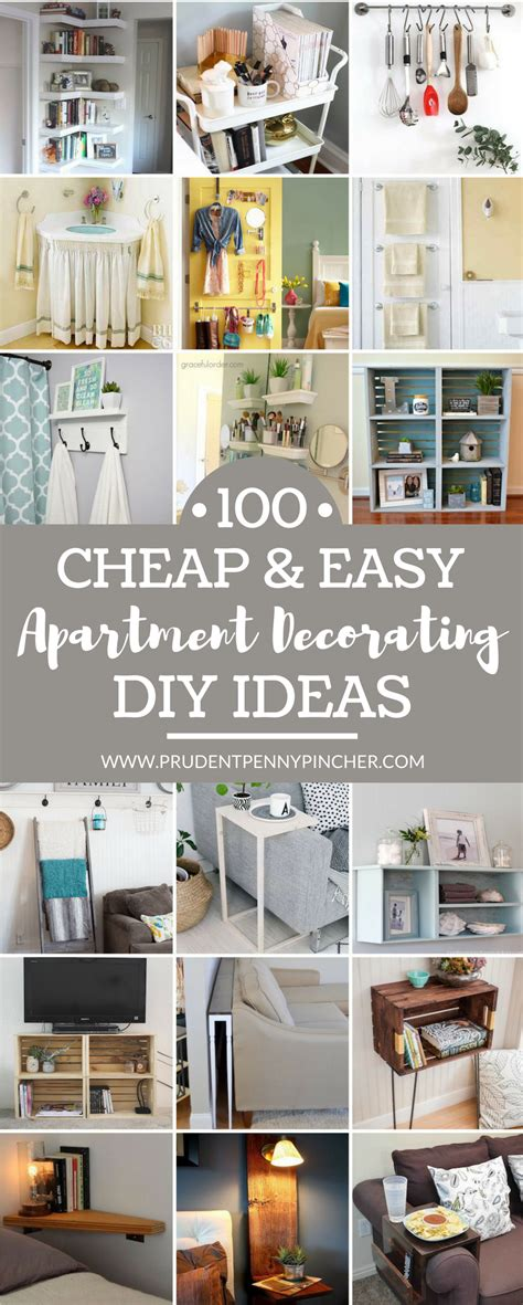 cheap  easy diy apartment decorating ideas simple