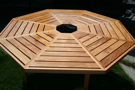 more octagon picnic table plans build by own