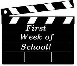 Image result for First week of school