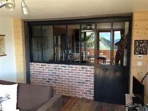 verriere interieure acier maison design sphenacom With couleur peinture pour couloir 4 verriare atelier dartiste quelle couleur peinture et