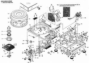 Technics Turntable Parts