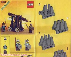Lego 6030 Catapult Set Parts Inventory And Instructions