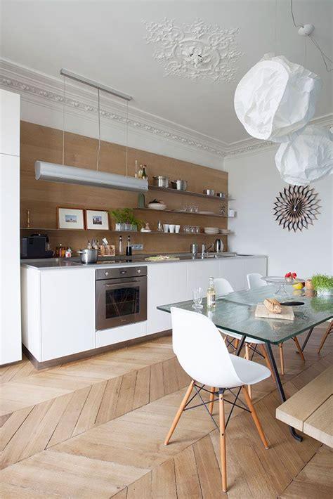 cuisine appartement parisien 17 meilleures idées à propos de intérieurs d 39 appartements