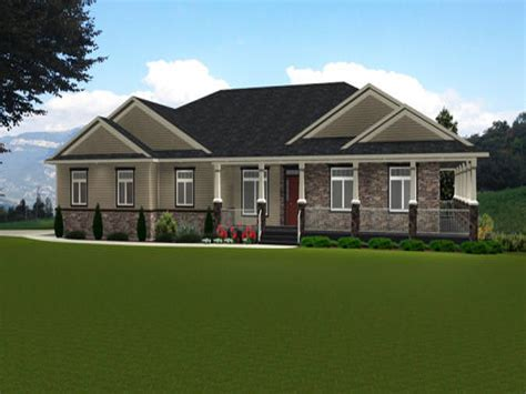 Small House Plans Craftsman Bungalow Ranch Style Bungalow