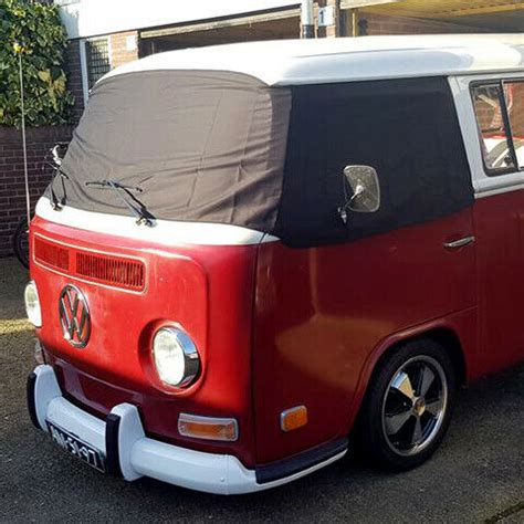 vw  bay window camper front screen curtain wrap cover