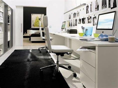 bureau blanc moderne bureau moderne à la maison idées créatives archzine fr