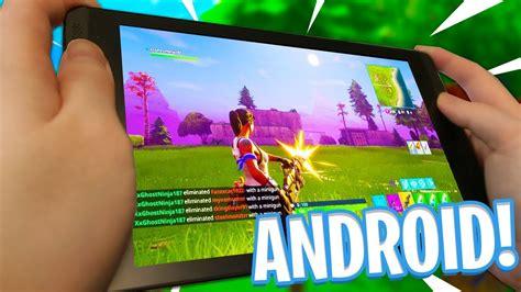 fortnite mobile  android    fortnite