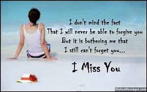 I miss you messages for ex-wife – WishesMessages.com