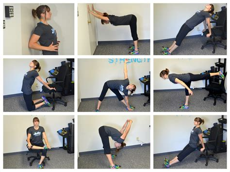 exercises to do at your desk with pictures how often should i do prehab rehab man bicep