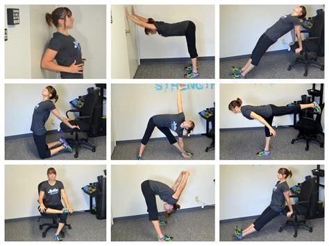 exercises for sitting at desk how often should i do prehab rehab man bicep