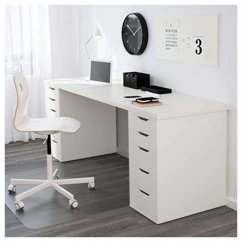 long desks for sale linnmon table top white legs and spaces
