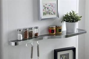 Etagere En Verre : etag re en verre pour habiller la cuisine ~ Teatrodelosmanantiales.com Idées de Décoration