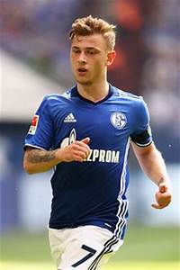 Soccer ... Joshua Kimmich, Amin Younes and Max Meyer ...