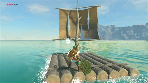 Sail Boat Zelda by Zelda Breath Of The Wild How To Sail And Make Wind