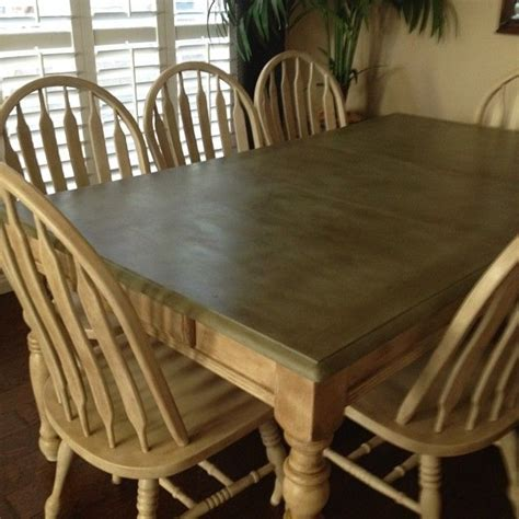 chalk paint table and chairs 11 best images about painting an oak dining table on