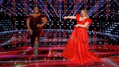 Season 20 of the voice is in the books, as far as the performances go, with just the votes to be counted and the. 'The Voice' Finale: Kelly Clarkson and DeSz Team Up on 'I'm Every Woman' | Entertainment Tonight