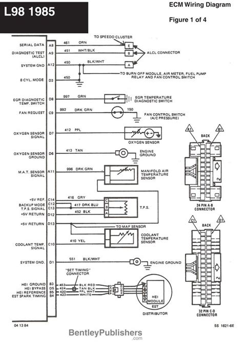 85 Chevy Fuel System Diagram by Wiring Diagram L98 Engine 1985 1991 Gfcv Tech