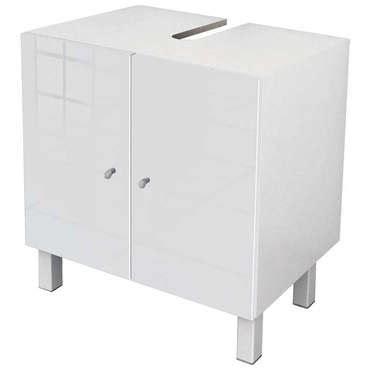 meuble sous lavabo conforama sous lavabo l 60 cm soramena coloris blanc vente de meuble et rangement conforama