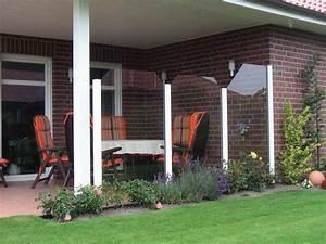 Windschutz Glas Terrasse : windschutz f r die terrasse den garten oder den balkon ~ Whattoseeinmadrid.com Haus und Dekorationen