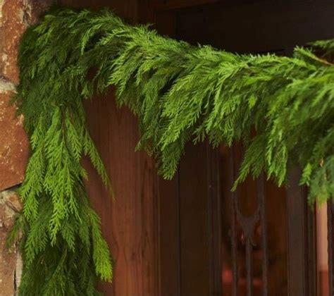 cedar garland contemporary artificial flowers plants