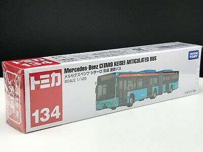 I deliberately picked that seat fabric and handrail to emphasise a warmer tone. Tomica #134 Mercedes-Benz CITARO KEISEI ARTICULATED BUS 1/120 SCALE NEW IN BOX   eBay