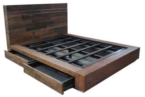 bed  storage drawers plans storage beds pinterest