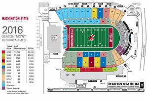 Autzen Stadium Seating Chart Most Donation Prices Rise For 2017 Season Tickets Cougcenter