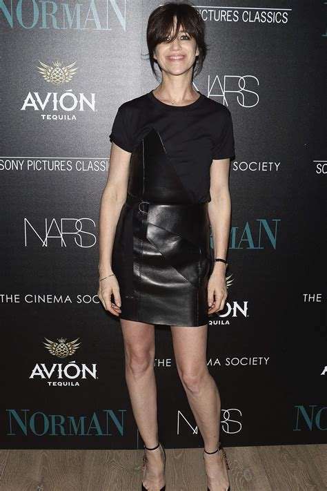 charlotte gainsbourg attends  premiere  norman
