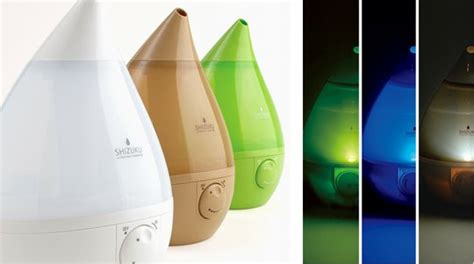 Antibacterial Lamp by Japan Trend Shop Shizuku Aroma Humidifier