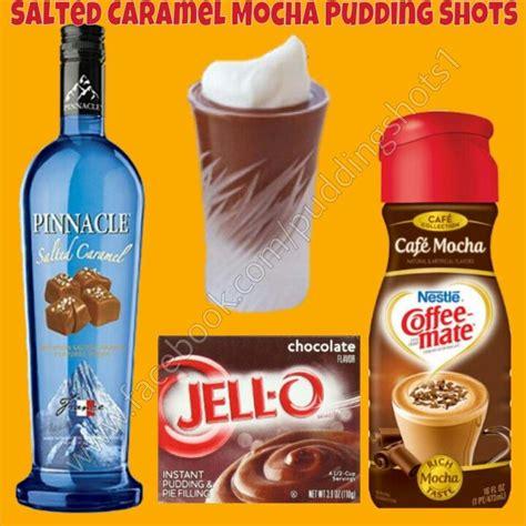 Salted Caramel Mocha I Pudding Shots See Full Recipe And