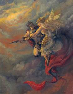 Athena Goddess LAST ONE Ares God of War Oil Painting 5x7 Print