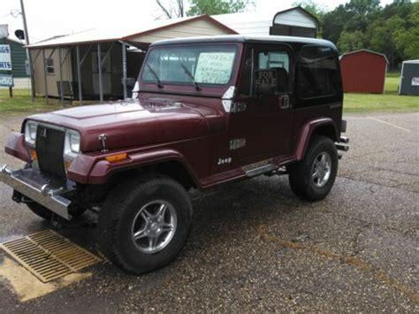 jeep burgundy matte find used maroon black hard top 383 stroker edlebrock