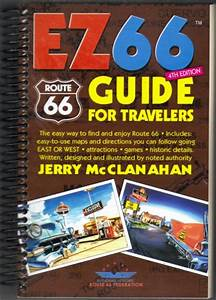 Ez66 Guide For Travelers 4th Edition By Jerry Mcclanahan