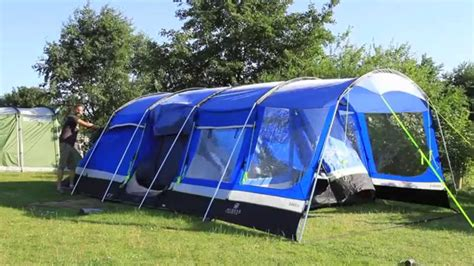 3 Man Tent With Porch by How To Pitch A Large Family Tent Youtube