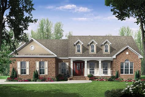 the bedroom country house plans traditional style house plan 3 beds 2 5 baths 2000 sq ft
