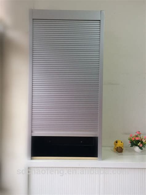 roller shutter cabinets for kitchen silver kitchen roller shutter door system buy roller