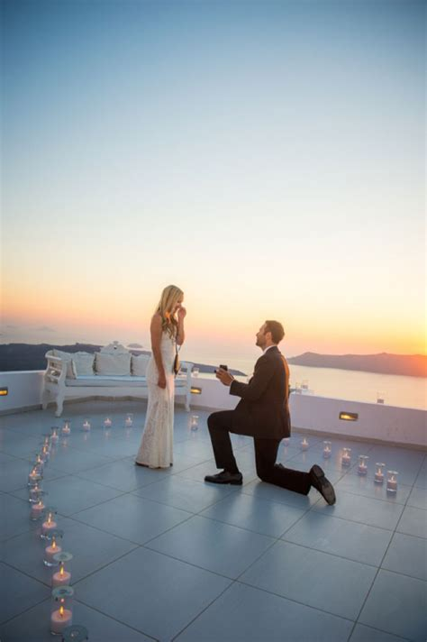 pulled   elaborate surprise proposal  greece