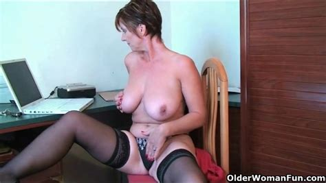 Big Russian Milf Tits Are Smoking Hot As She Plays Alpha