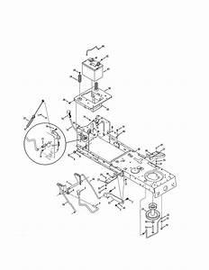 Craftsman Model 247203742 Lawn  Tractor Genuine Parts