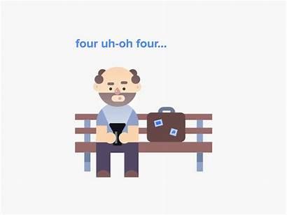 404 Error Found Website Admo Flat Unique